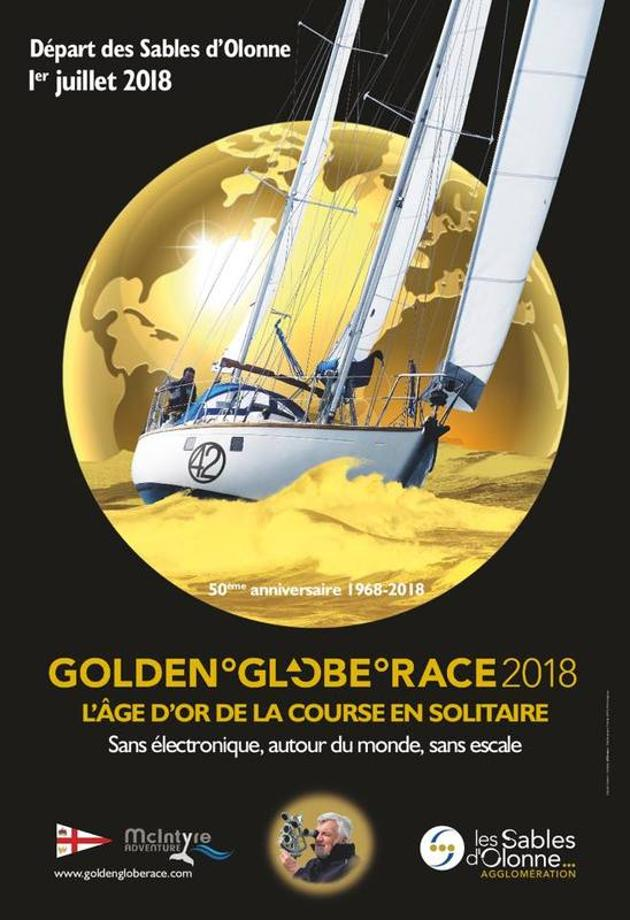 Photo Golden Globe Race 2018 course en solitaire au départ des Sables d'Olonne