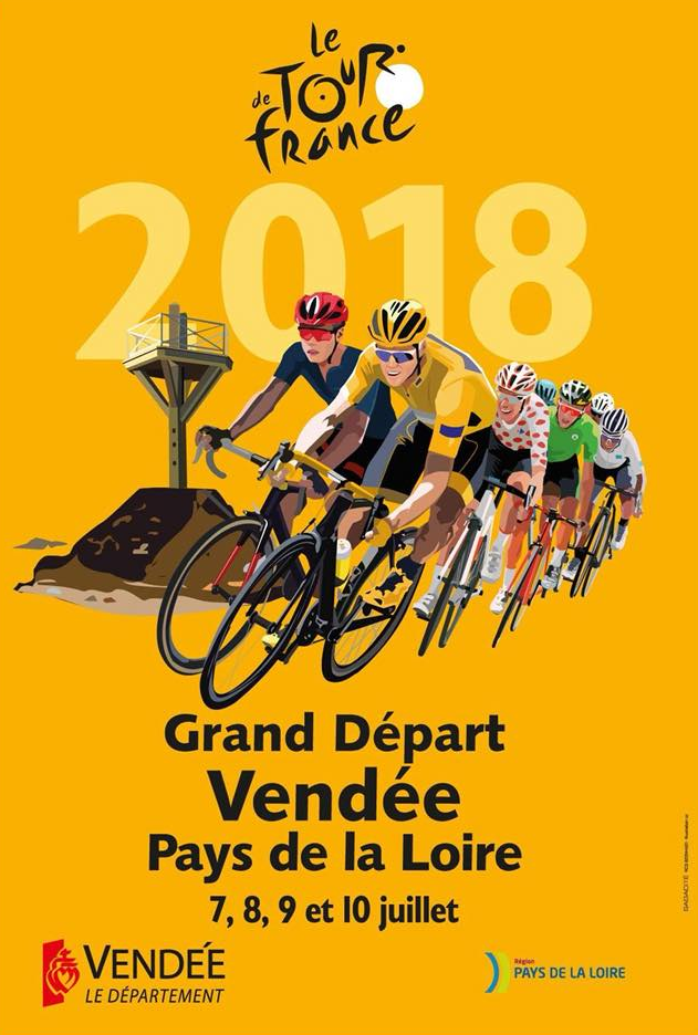 Photo Grand départ Vendée Pays de la Loire Tour de France