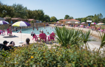 photo camping le petit paris en vendee lagon