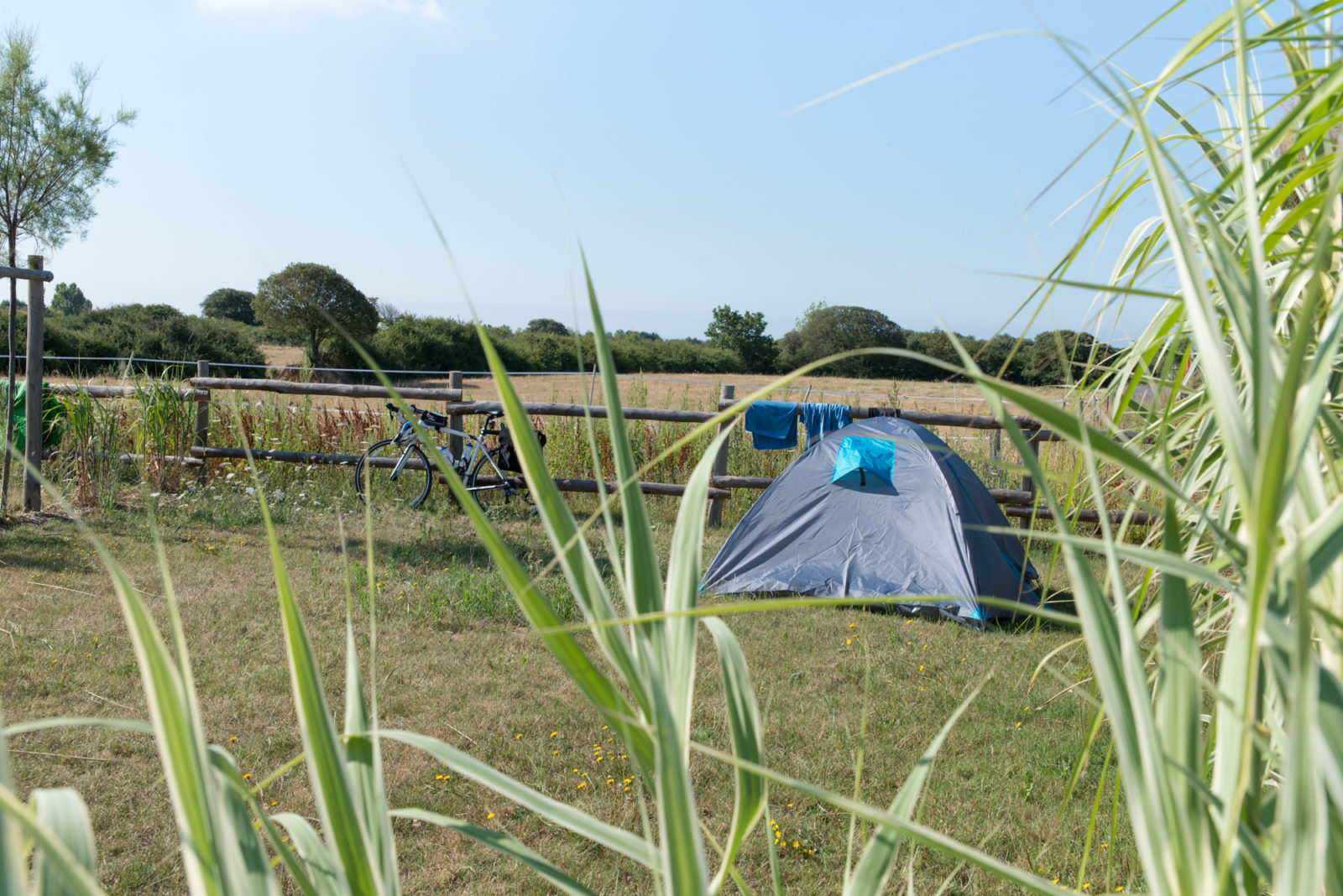 photo camping le petit paris en vendee tente